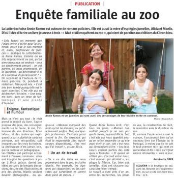 Enquete au zoo 1