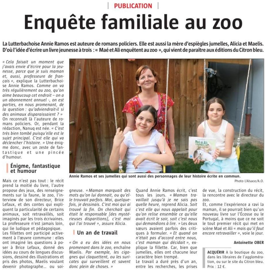 Enquete au zoo