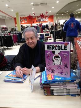 Yannick, illustrateur d'Hercule